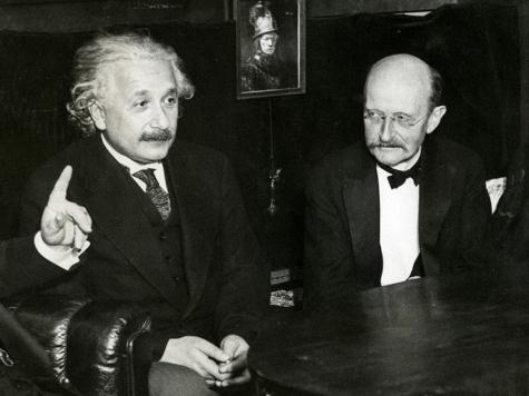 Einstein et Planck