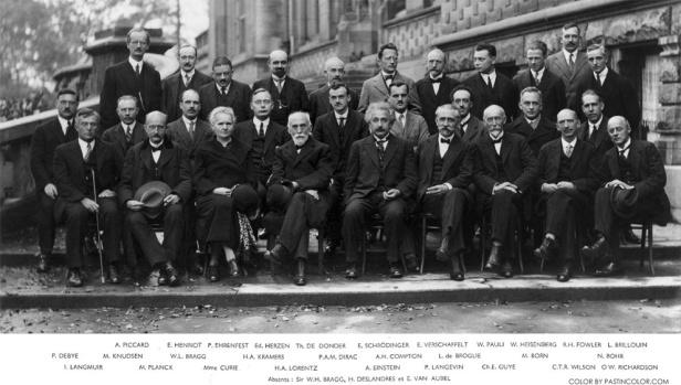 Planck et ses potes au congrès Solvay